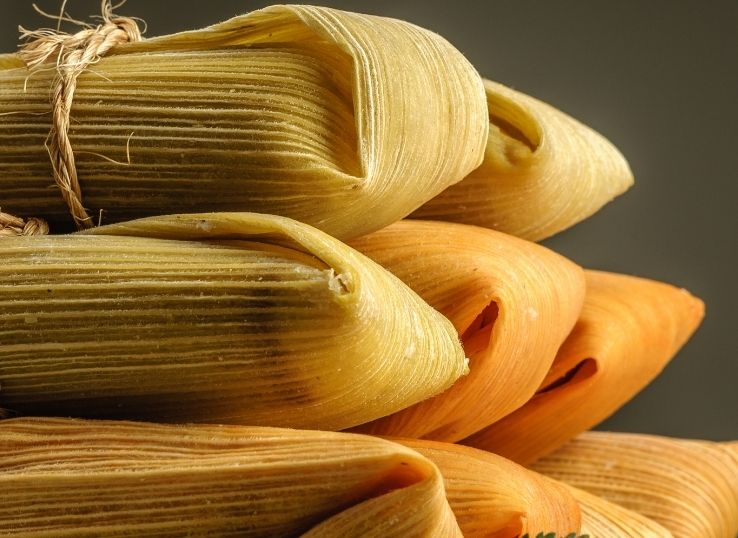 How to eat tamale